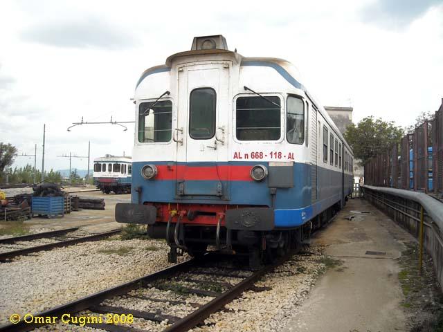 ALn 668.118 in deposito a Piedimonte
