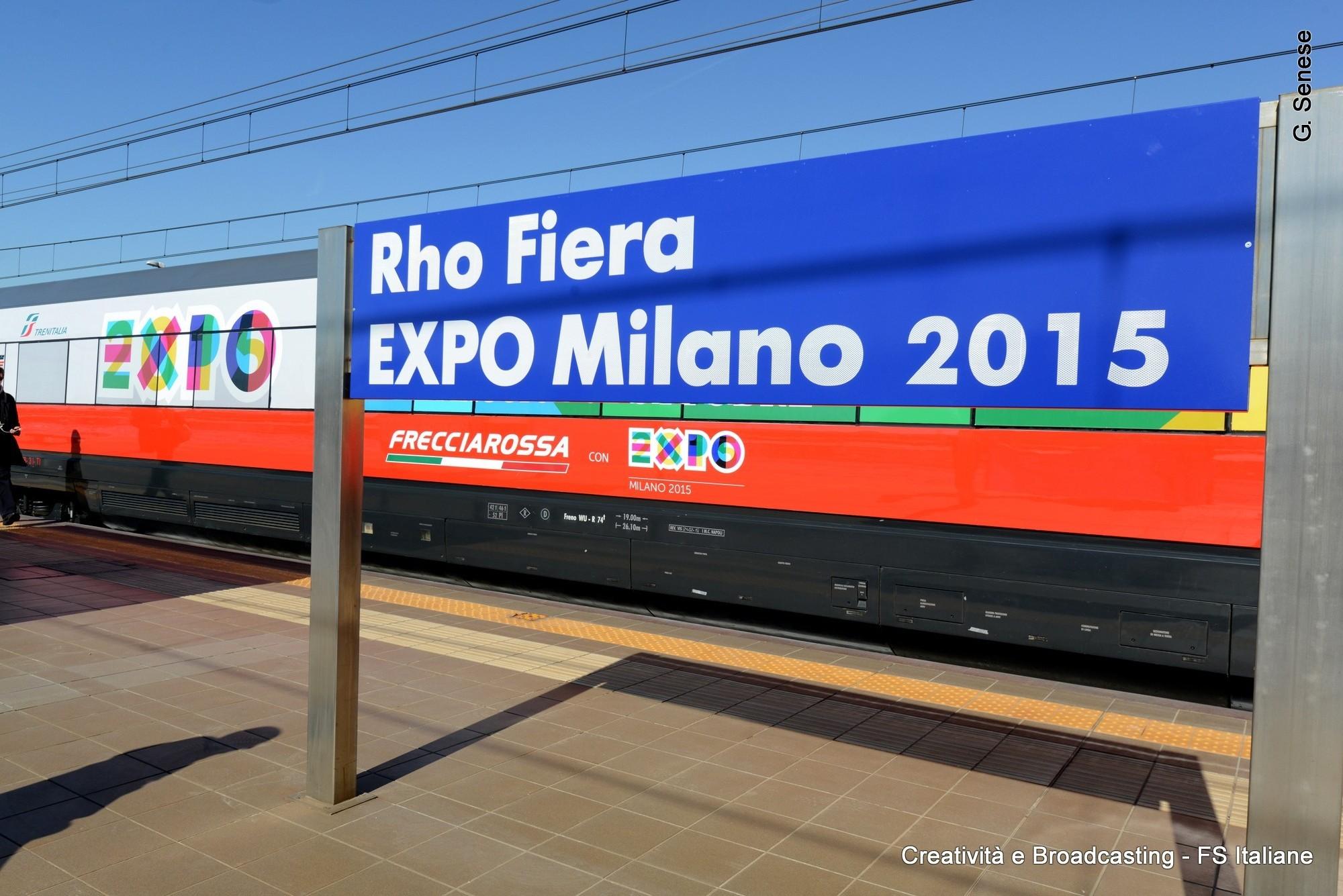 Rfi expo 2015 nella stazione di rho fiera aperta la for Expo fiera milano