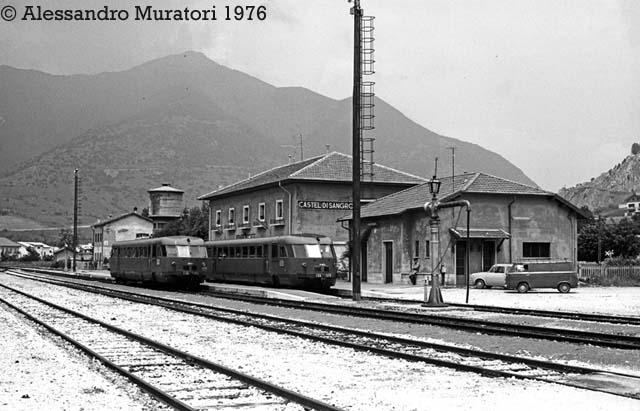 Ferrovia carpinone sulmona for Piani di fattoria di un livello