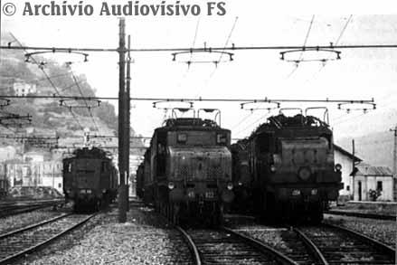 Třífázová trakce v Itálii