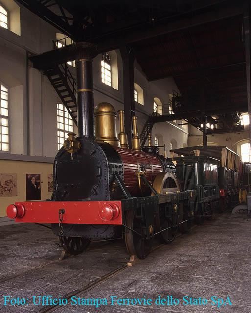 Locomotiva Bayard al Museo di Pietrarsa (NA)